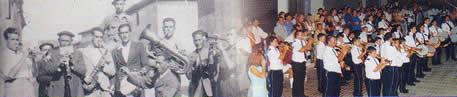 Bandas de música durante las fiestas, ayer y hoy. Bienvenidos a la 1ª página NO OFICIAL de Humanes de Madrid, Humanesdemadrid.com, Humanes Madrid