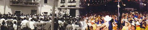 Fiesta en la plaza del pueblo, ayer y hoy. Bienvenidos a la 1ª página NO OFICIAL de Humanes de Madrid, Humanesdemadrid.com, Humanes Madrid