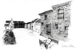Antigua Plaza del Pueblo