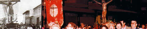 Procesión del Cristo durante las fiestas, ayer y hoy. Bienvenidos a la 1ª página NO OFICIAL de Humanes de Madrid, Humanesdemadrid.com, Humanes Madrid
